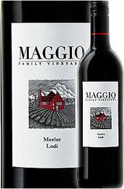 《マッジオ》 メルロー ロダイ [2018]|カベルネソーヴィニヨン|ピノノワール|オールドヴァイン ジンファンデル|シャルドネ MAGGIO FAMILY VINEYARDS Estate Grown Merlot Lodi, California 750ml スクリューキャップ白赤ワイン カリフォルニアワイン専門店 誕生日ギフト
