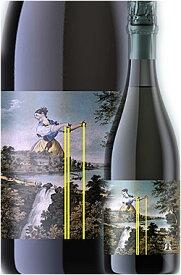 """●ウルトラマリン同様瓶内二次《マイケルクルーズ》 """"クルーズ トラディション"""" スパークリングワイン [NV] (実質2017) Michael Cruse Wine co. Sparkling TRADITION California 750ml 畑:ローリック+リタズクラウン+アルダースプリングス/シャルドネ85%ピノノワール15%"""