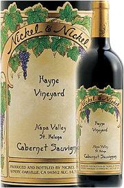 """《ニッケル&ニッケル》 カベルネ・ソーヴィニヨン """"ハイン・ヴィンヤード"""" セントヘレナ, ナパ・ヴァレー [2017] Nickel & Nickel Cabernet Sauvignon HAYNE VINEYARD, St. Helena, Napa Valley 750ml ヘイン ナパバレー赤ワイン カリフォルニアワイン専門店あとりえ"""