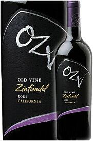 """《OZV》(オー・ジー・ヴィー) オールドヴァイン・ジンファンデル """"ロダイ"""" [2018] OZV Old Vine Zinfandel Lodi Oak Ridge Winery 750ml オークリッジワイナリー オージービー ロウダイ/ローダイ赤ワイン カリフォルニアワイン専門店あとりえ 誕生日プレゼント"""