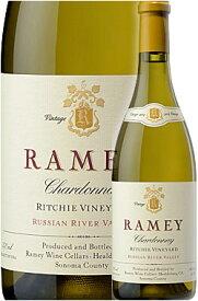 """●WA95+点/AG95/WE95/WS94《レイミー》 シャルドネ """"リッチー・ヴィンヤード"""" ソノマコースト (ロシアンリヴァーヴァレー) [2016] Ramey Wine Cellars Chardonnay Ritchie Vineyard, Russian River Valley (Sonoma Coast) 750ml カリフォルニアワイン専門店あとりえ"""