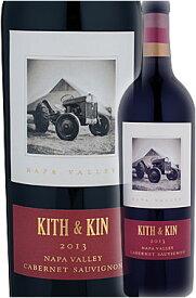 """●唯一価格トーマス・ブラウン作《ラウンドポンド》 カベルネソーヴィニヨン """"キス&キン"""" ナパ・ヴァレー (ラザフォード) [2013] Round Pond Estate Winesy KITH & KIN Cabernet Sauvignon Napa Valley 750ml ナパバレー赤ワイン カリフォルニアワイン正規品"""