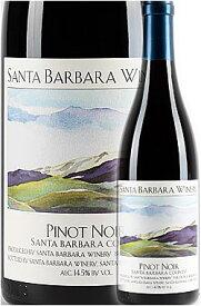 《サンタバーバラ・ワイナリー》 ピノノワール サンタリタヒルズ [2015] Santa Barbara Winery Pinot Noir Santa Rita Hills 750ml 赤ワイン カリフォルニアワイン専門店あとりえ 母の日 プレゼントにも