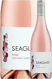 """《シーグラス》 ロゼ """"モントレー・カウンティ"""" [2019] Seaglass Wine Company Rose Monterey County, California 750ml シラー+グルナッシュ等ロゼワイン ※スクリューキャップ仕様 カリフォルニアワイン専門店あとりえ 敬老の日 誕生日プレゼント"""
