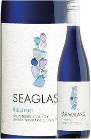 """《シーグラス》 リースリング """"モントレー/サンタバーバラ・カウンティ"""" [2019] Seaglass Wine Company Riesling Monterey County/Santa Barbara County, California 750ml 白ワイン ※スクリューキャップ仕様 カリフォルニアワイン専門店 誕生日プレゼント"""