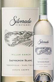 ●ディズニーの遺産 《シルヴァラード・ヴィンヤーズ》 ソーヴィニヨンブラン ミラー・ランチ ナパヴァレー [2018] Silverado Vineyards Sauvignon Blanc Miller Ranch Napa Valley 750ml ナパバレー シルバラード白ワイン カリフォルニアワイン ※スクリューキャップ