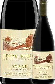 """《テールルージュ》 シラー """"レ・コート・ド・ルエスト"""" カリフォルニア [2014] Terre Rouge Syrah LES COTES de L'OUEST California 750ml カリフォルニアワイン専門店あとりえ 誕生日プレゼント 赤ワイン"""