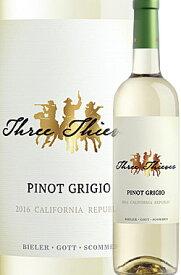 """《スリーシーヴズ》 ピノグリージョ """"カリフォルニア"""" リパブリック [2019] Three Thieves Pinot Grigio Republic California -BIELER・GOTT・SCOMMES- 750ml スリーシーブス白ワイン カリフォルニアワイン専門店あとりえ 父の日 誕生日プレゼント"""