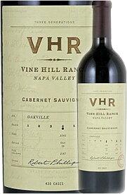 """●ガローニ100点《VHR》 カベルネ・ソーヴィニヨン """"ヴァインヒルランチ・エステイトヴィンヤード"""" オークヴィル, ナパヴァレー [2016] VHR Cabernet Sauvignon Vine Hill Ranch Estate Vineyard, Oakville, Napa Valley 750ml ナパバレー赤ワイン カリフォルニアワイン"""