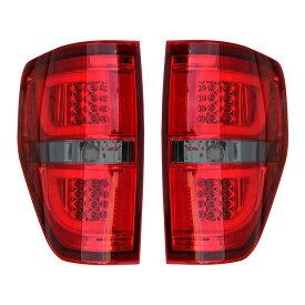 【売り切り特価!】09-13y F150 ユーロLEDテールランプ レッド /スモーク LEDバー