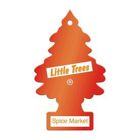2018新作!アメリカの香り エアフレッシュナー 芳香剤 リトルツリー LittleTrees スパイスマーケット Spice Market 1pc Made in USA