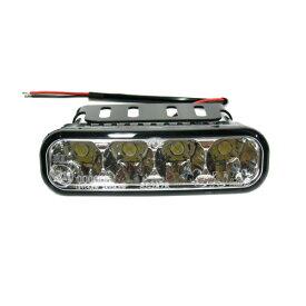 LEDリバースライト LEDバックランプ ホワイト 4LED 120mm 汎用品