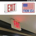 おしゃれ看板 アメリカンサイン EXIT レッド LED 赤点灯 FROM USA