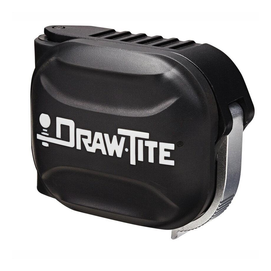 ヒッチカバー ヒッチメンバー カバー ドロータイト DRAW TITE ブラック 汎用