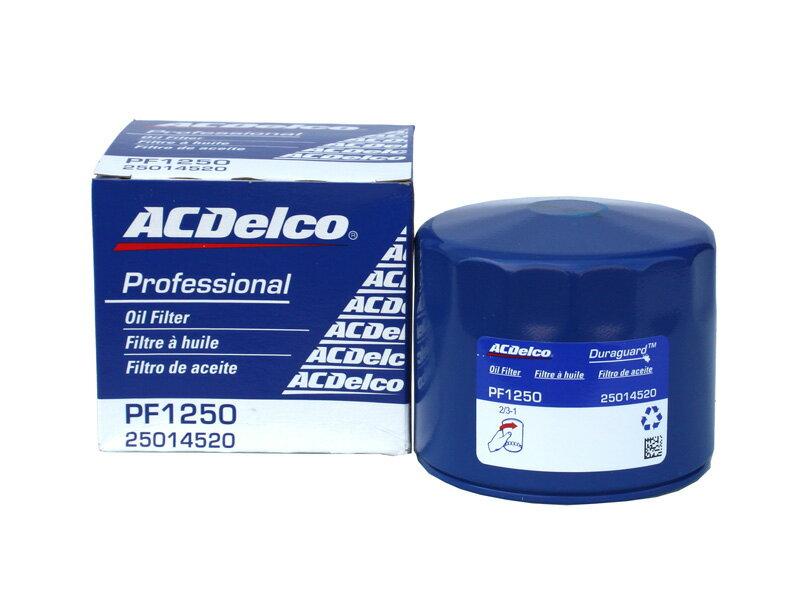 オイルフィルター オイルエレメント PF1250 ACデルコ AC Delco