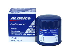 オイルエレメント オイルフィルター ACDelco ACデルコ PF48E(旧番PF48)