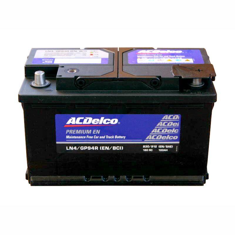 バッテリー ACデルコ ACDelco LN4(GP94R/20-80) トップターミナル