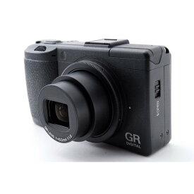 【5/9~16 クーポンで最大4000円OFF!!】リコー RICOH GR DIGITAL III お手軽ハイスペックなコンデジ 美品 SDカード付き