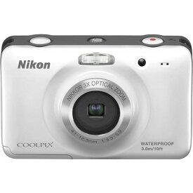 ニコン Nikon COOLPIX S30 ホワイト S30WH SDカード付き