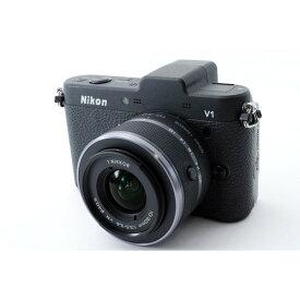 ニコン Nikon V1 レンズセット ブラック 美品 新品SDカード、元箱付き