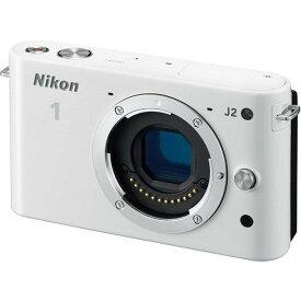 ニコン Nikon ミラーレス一眼 ニコン Nikon 1 J2 ボディー ホワイト N1J2WH