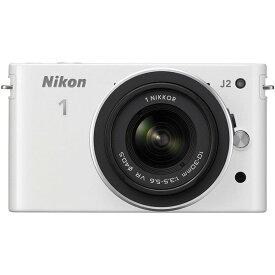 ニコン Nikon J2 標準ズームレンズキット ホワイト N1J2HLKWH 新品SDカード付き
