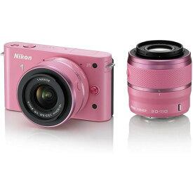 ニコン Nikon J1 ダブルズームキット ピンクスペシャルキットN1 J1WZ PK 新品SDカード付き