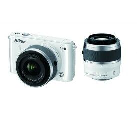 ニコン Nikon S1 ダブルズームキット ホワイト SDカード付き