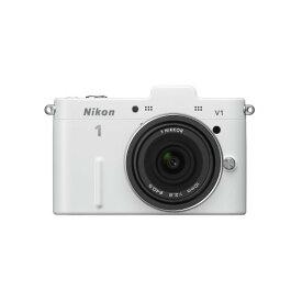 ニコン Nikon V1 薄型レンズキット ホワイト 新品SDカード付き