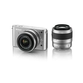 ニコン Nikon J1 ダブルズームキット シルバー 新品SDカード付き