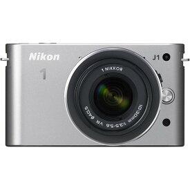 ニコン Nikon J1 標準ズームレンズキット シルバーN1 J1HLK SL 新品SDカード付き