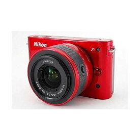 ニコン Nikon J1 標準ズームレンズキット レッドN1 J1HLK RD SDカード付き
