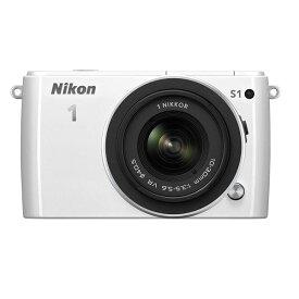 ニコン Nikon S1 標準ズームレンズキット ホワイト 新品SDカード付き