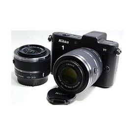 ニコン Nikon J1 ダブルズームキット ブラックN1 J1WZ BK 新品SDカード付き