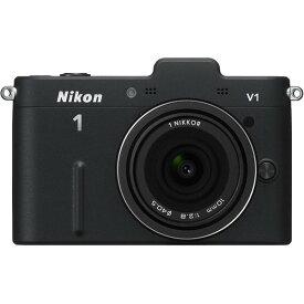 ニコン Nikon V1 薄型レンズキット ブラックN1 V1ULK BK 新品SDカード付き
