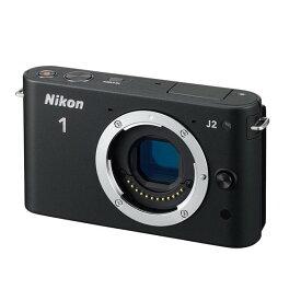 ニコン Nikon J2 ボディー ブラック 新品SDカード付き