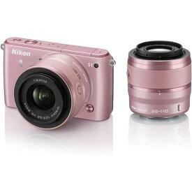 ニコン Nikon S1 ダブルズームキット ピンク N1S1WZPK 新品SDカード付き
