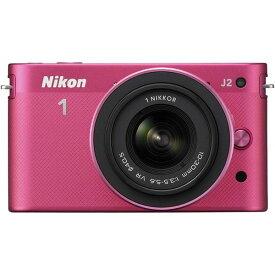 ニコン Nikon J2 標準ズームレンズキット ピンク N1J2HLKPK SDカード付き