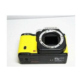 ペンタックス PENTAX デジタル一眼カメラ K-01 ボディ ブラック/イエロー K-01BODY BK/YE