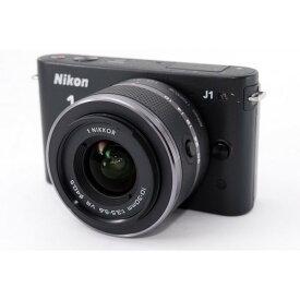 ニコン Nikon J1 ブラックレンズキット 新品8GB SDカード付き