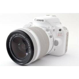Canon EOS Kiss X7 レンズキット ホワイト★極上美品★8GB 新品SDカード、ストラップ付き!