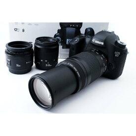 キヤノン Canon EOS 6D 標準&超望遠&単焦点トリプルレンズスペシャルセット SDカード付き