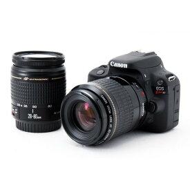 キヤノン Canon EOS Kiss X7 ダブルズームセット 美品 8GB 新品SDカード付き