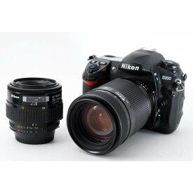 ニコン Nikon D200 標準&望遠ダブルズームセット 美品 ストラップ付き