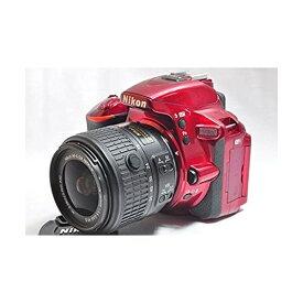 ニコン Nikon D5500 18-55 VRII レンズキット レッド 新品SDカード付き
