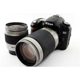 ニコン Nikon D80 標準&超望遠300mm ダブルズームセット 美品 新品8GB SDカード付き!