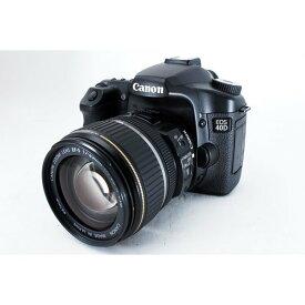 【5/9~16 クーポンで最大4000円OFF!!】キヤノン Canon EOS 40D レンズキット 美品 一眼初心者にオススメ ストラップ付