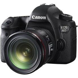 キヤノン Canon EOS 6D レンズキット EF24-70mm F4L IS USM付属 SDカード付き