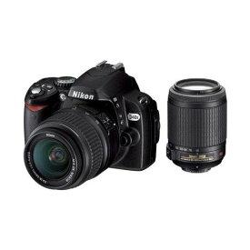 ニコン Nikon D40X ダブルズームキット D40XWZ 新品SDカード付き