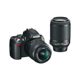 ニコン Nikon D60 ダブルズームキット 新品SDカード付き